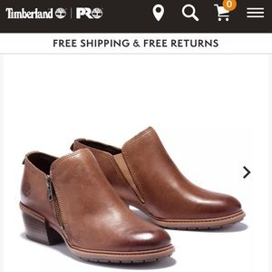 """Timberland Sutherlin Bay """"shooties"""" size 8"""